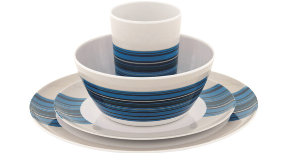 Outwell Blossom Picnic Set 4 Persons Columbine Blue